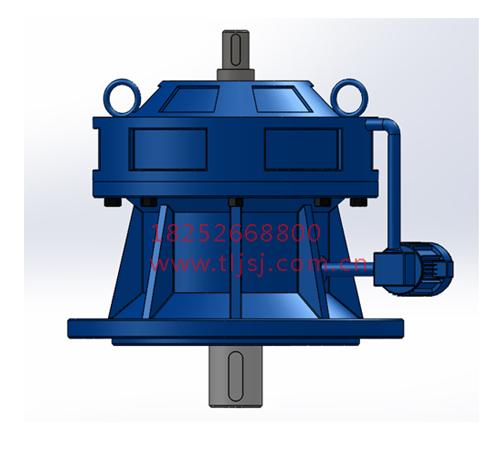BHL、BHLE立式单级双轴型化工部摆线针轮减速机