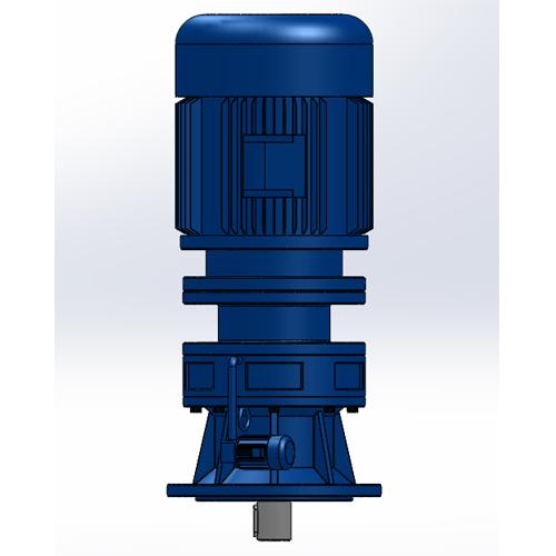 新型摆线TBLD普通电机法兰型单级立式针轮减速机