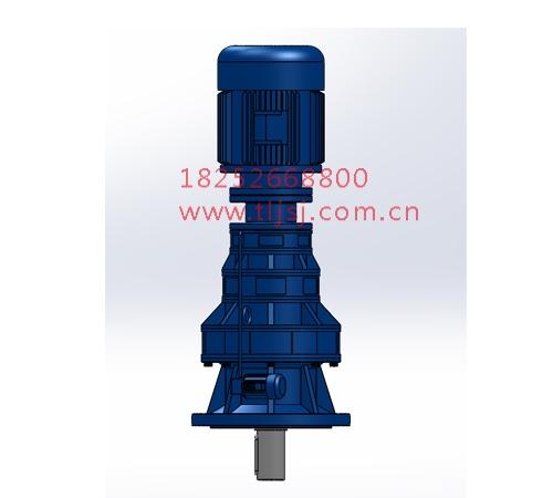 BLSY立式三级普通电机直联型摆线针轮减速机
