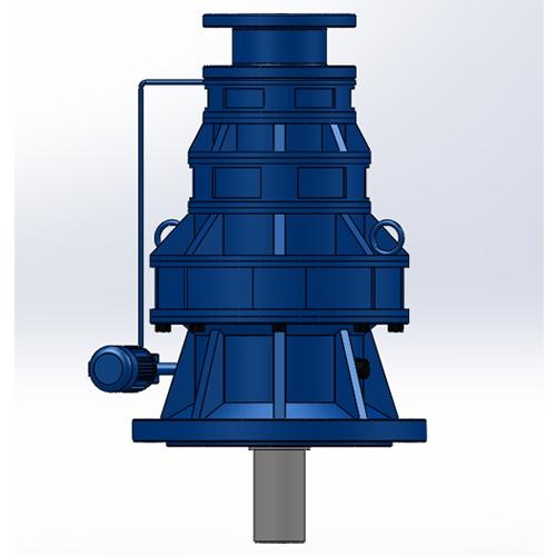 BLSZ立式双级电机自配摆线针轮减速机