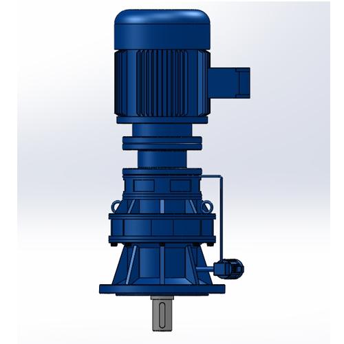 BLEY立式单级专用电机法兰型摆线减速机